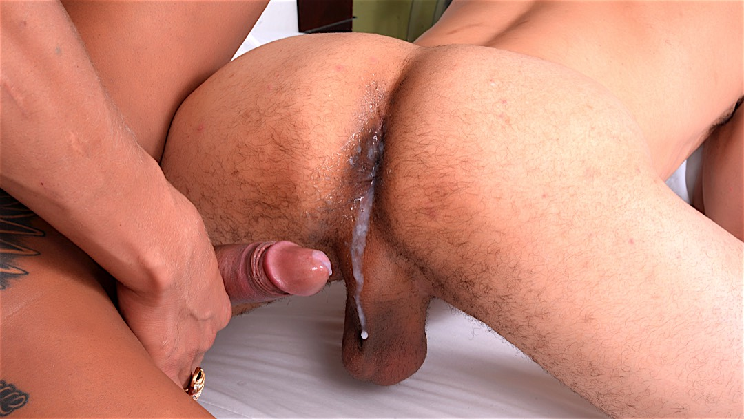 Sexy tranny Rosy Pinheiro fucks a guy